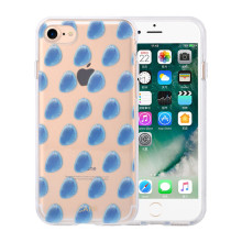 PC e TPU Hybrid IMD Cobblestone iPhone8 Plus Phone Case