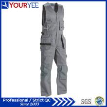 Combinaisons de travail sans manches en coton à manches longues en polyester polyester (YBD124)