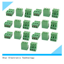 Factory Price 3 Pin PCB Mount Screw Terminal Block 3.96mm Pitch