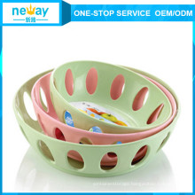 China New Style 3 Pieces Large Fruit Plate