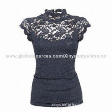 Ladies lace tops, latest design