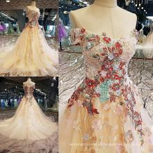 LS00118 appliques de renda ao atacado vestido de moda vestido de moda lindo vestido de moda