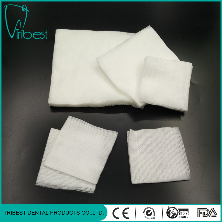 Dental Square Meters Disposable Medical Non-woven Gauze