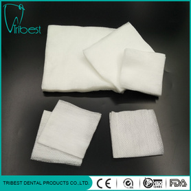 Dental Square Meter Disposable Medical Non-woven Gauze