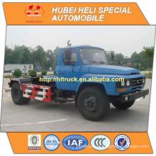 DONGFENG 4x2 6M3 recolección de basura camión 140hp Yuchai energía precio barato venta caliente