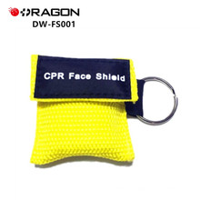 Máscaras faciales de resucitación de bolsillo CPR DW-FS001