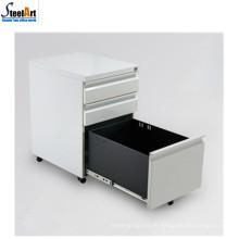 Bonne qualité vente chaude mobilier de bureau mobile 3 classeurs tiroir