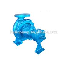 High temperature liquid transported pulp and paper pump