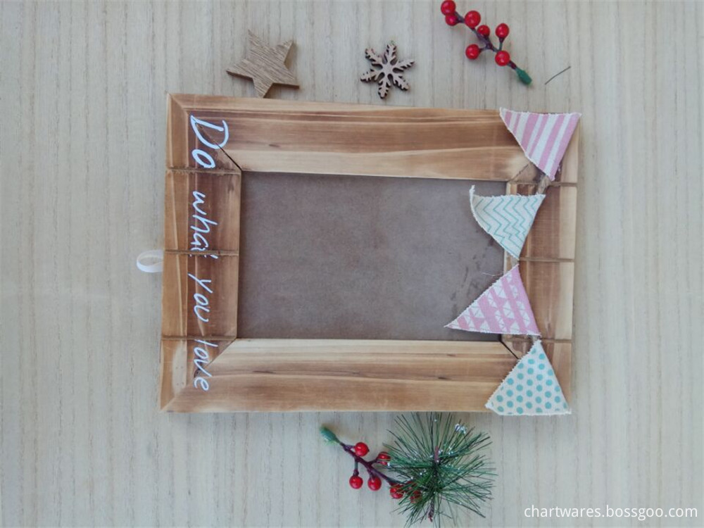 solid wooden photo frame