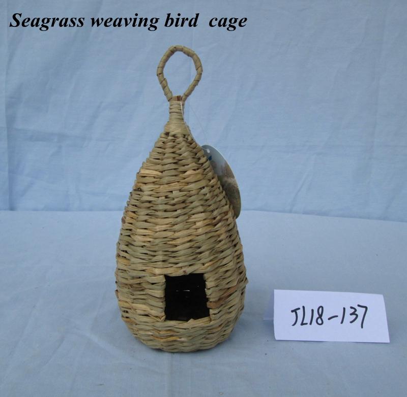 Seagrass weaving bird  cage