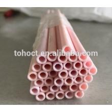 Tubo de cerámica del al2o3 de la esteatita de la circona del zirconia de la alúmina del aislador de la gran calidad 99.8
