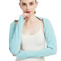 Ladies New Ice Silk Sleeve Anti-UV Siamese Shawl Sleeve
