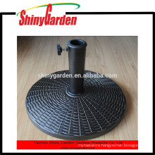 plastic resin outdoor umbrella base