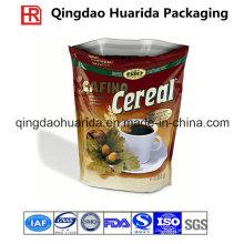 Aufstehen Kunststoff FDA-Grade Kaffee / Kaffeebohnen Tasche mit Reißverschluss