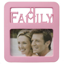 Pink Family 4x6inch Photo Frame For Gift