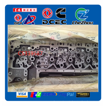 Dongfeng truck parts L series diesel engine cylinder head 5339587