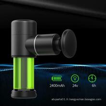 Mini-pistolet masseur portable à vibration des tissus profonds sur mesure