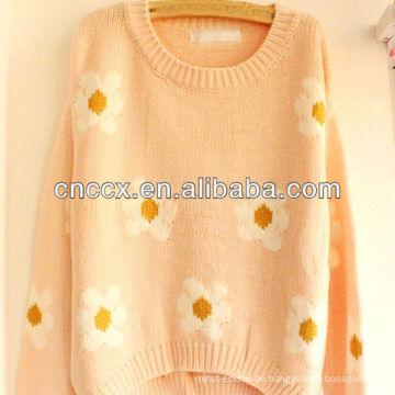 12STC0678 Vintage Frauen floral japanische Pullover