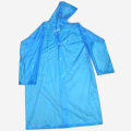Blue adult PVC Raincoat