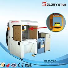 3axies Dynamic Laser Marking Machine Woking on Wood Gld-350