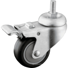 Medium Duty Thread Stem Castors with Brake