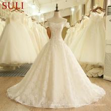 SL-407 Custom Made Alibaba Desginer Robes de mariée 2017 en ligne