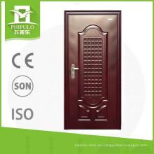 Puertas de acero de seguridad para la decoración de hogares.