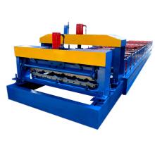 Hebei Xinnuo 960 Glasierte Dachziegelkante Rollenformmaschine