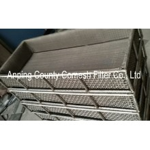 304 Stainless Steel Wire Mesh Basket Tray