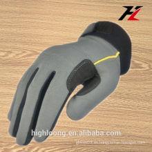 Hombres guantes de trabajo de microfibra