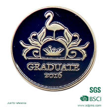 Graduate Lapel Pin for Soft Enamel (XD-MB-04)