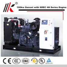 100KW GENERATOR SET WITH SDEC SC4H180D2 DIESEL ENGINE 125KVA GENSET