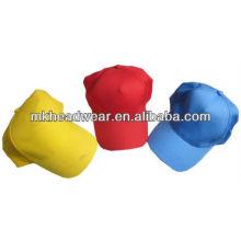 5 casquillo de béisbol de la placa del panel / promoción en blanco sombreros de las gorras / sombrero barato