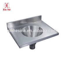 Dissipador combinado de aço inoxidável da comporta, combinação médica do dissipador do Sluice para mercadorias sanitários do hospital
