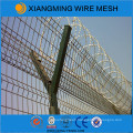 Galvanized Razor Barbed Wire Mesh Fence