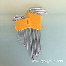 L Type Hex Allen Key with Star Head