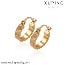 29700 -Xuping Bijoux Fashion Plaqué Or Huggies Boucle d'oreille