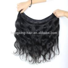 Laser-Haarentfernungsmaschine 12 14 16 18 reines indisches Haar häkeln Zöpfe mit menschlichen Haaren