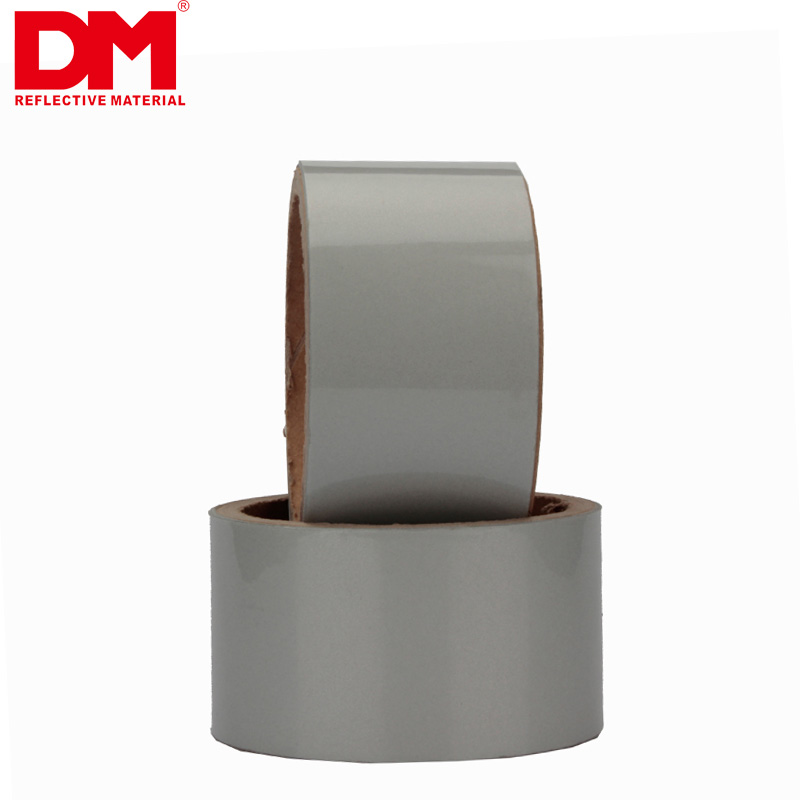 Silver Elastic Reflective Fabric
