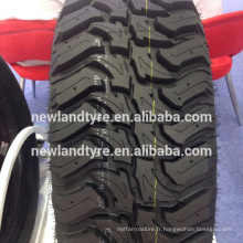 CHAUD! DURUN NEW TIRE MUD PNEU CHINE MANUFATURE DIRECT FOURNISSEUR 235 / 85R16 SUV TIRE