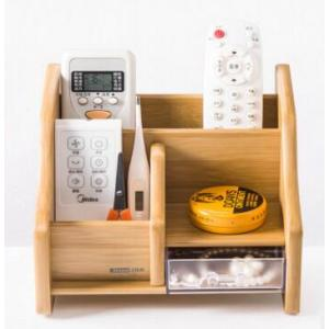Office Wooden Desktop Storage Organizer Box Container
