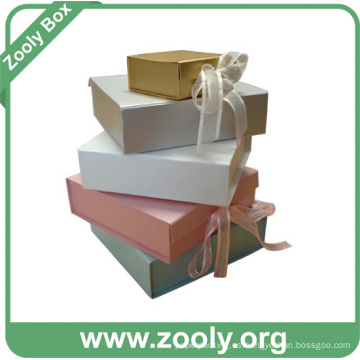Papel Decorativo Impreso Cajas De Regalo Plegables / Caja Plegable Profesional Fabricante