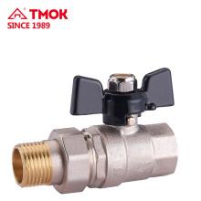 Manija de la válvula de control hidráulico Fabricante de la válvula de la bola de agua en la zona industrial de Yuhuan