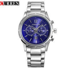 Thin Casual Stainless Steel Quartz Watches For Men