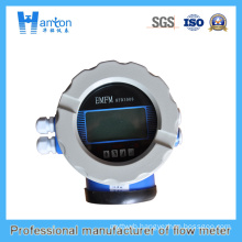 Blue Carbon Steel Electromagnetic Flowmeter Ht-0290
