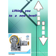 CANON de VVVF de 800-2000kg motorreductor elevador tracción