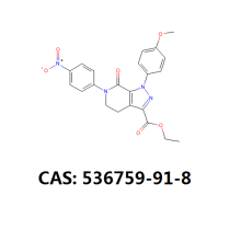 OEM for Apixaban Ethyl Ester Impurity Apixaban intermeidate cas 536759-91-8 supply to Congo, The Democratic Republic Of The Suppliers