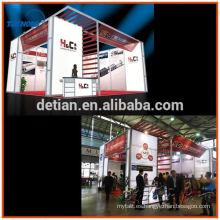 contratista estándar modular de la cabina de exposición del perfil de aluminio para la feria de Australia