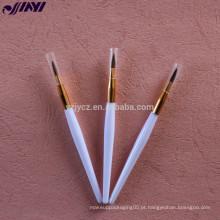 Escova de maquiagem multifuncional para lábio liner, brilho labial, batom, eyeliner