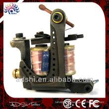 La más nueva máquina de tatuaje de latón hecha a mano, el trazador de líneas y el arma del tatuaje del sombreador